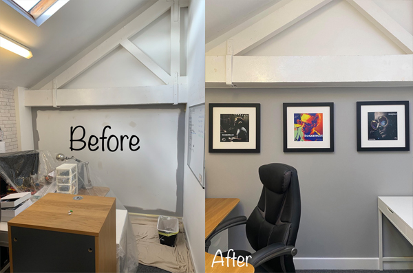 Office painting and decorating hampshire